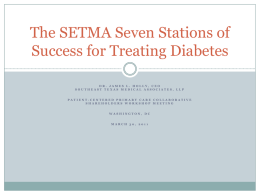 The SETMA Seven Stations of Success