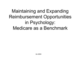 Medicare, CPT, RVU: Update, Problems, & Directions