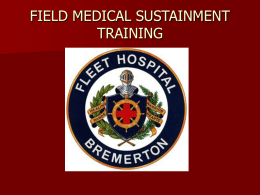 FIELD MEDICAL SUSTAINMENT TRAINING - NH-TEMS