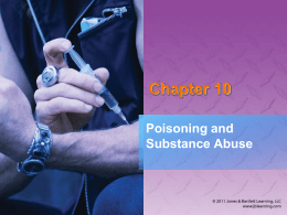 Poisoning and Substance Abuse - Mater Academy Lakes High