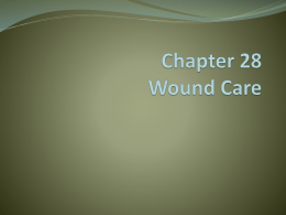 Chapter 28 Wound Care - Mount Vernon High School
