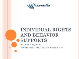 member rights - Community Care of Central Wisconsin