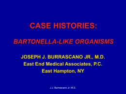BARTONELLA-LIKE ORGANISMS