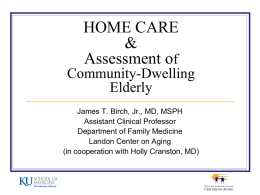 HOME CARE Of Community