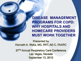 disease management programs for copd and chf