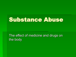 Chapter 22 Substance Abuse PowerPoint