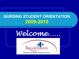 Brookhaven Orientation