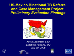 July 19, 2005 - United States - Mexico Border Health Commission