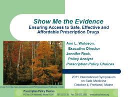 Ann L. Woloson and Jennifer Reck, Show Me the Evidence