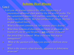 Ischemic Heart Disease - Saint Francis Hospital and Medical Center