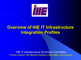 IHE_ITI-TF_Overview-V2