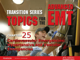 AEMT Transition - Unit 25 - Hypertensive and Vascular Emergencies
