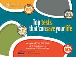 Top Tests to Save Your Life