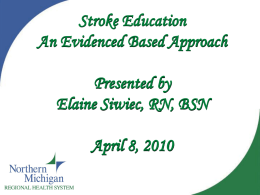 Presentation 4 - GLRN stroke education