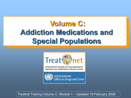 Volume C - United Nations Office on Drugs and Crime