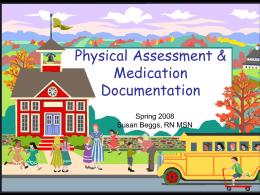 Physical assessment - Austin Community College