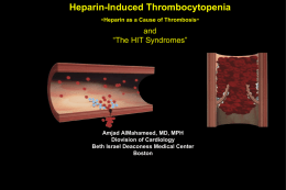 Understanding Heparin-Induced Thrombocytopenia (HIT): Historical