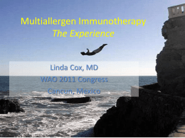 old pp Multiallergen Immunotherapy IT