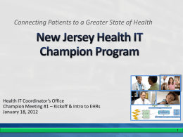 Educate - NJ HIMSS