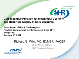 Meaningful Use - Association of Black Cardiologists