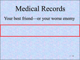 26.medical records