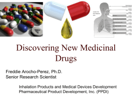 An Overview of the Pharmaceutical Development Process