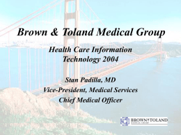 Brown & Toland Medical Group