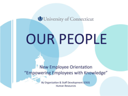 Human Resources - University of Connecticut