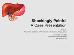 Shockingly Painful A Case Presentation