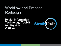 Workflow and Process Redesign ppt