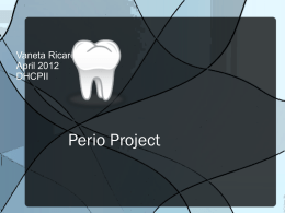Perio Project - WordPress.com