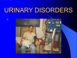 URINARY DISEASES