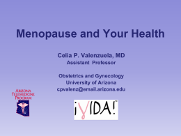 Menopause and Your Health