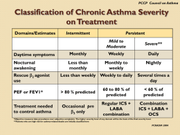 PCCP Council on Asthma