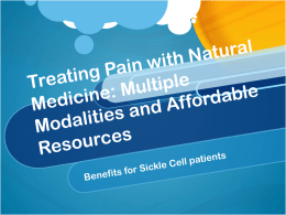 Treating Pain with Natural Medicine