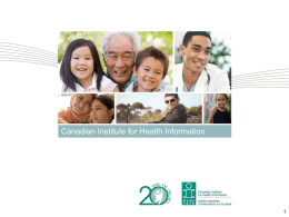 Benefits of Implementing a Pan-Canadian Patient Experience