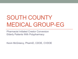 South county medical group-EG