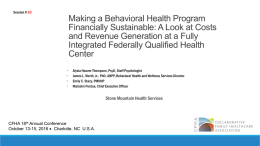 Slides B3 - Collaborative Family Healthcare Association