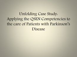 Parkinson`s-Disease-and-QSEN-Competencies