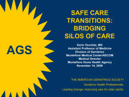 Safe Care Transitions