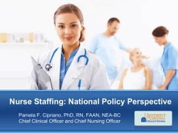 Nurse Staffing Policy - Virginia Nurses Association