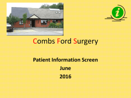 you - Combs Ford Surgery