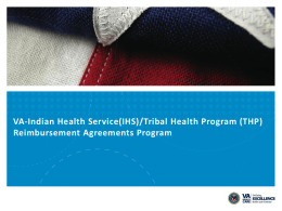 Tribal Health Program (THP)