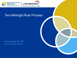 Two-Midnight Presentation - Livanta BFCC-QIO