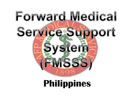 Forward Medical Service Support System