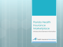 Florida Health Insurance Marketplace