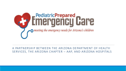 APDC - PPEC presentation - Arizona Pediatric Disaster Coalition