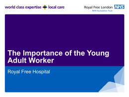 Young Adult Worker - British Renal Society
