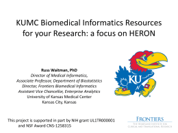 downloading - University of Kansas Medical Center