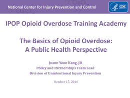 CDC Guideline for Prescribing Opioids for Chronic Pain